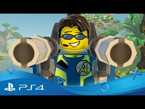LEGO Worlds | Agents Pack-trailer, exclusief bij PlayStation | PS4