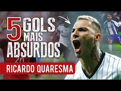 Os 5 GOLS mais ABSURDOS de RICARDO QUARESMA