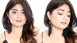 TUTORIAL : Pop of Blue | Summer Makeup | corallista