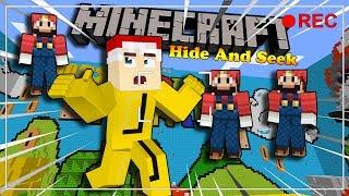 SAO NHIỀU MARIO THẾ NÀY ??? - Minecraft Hide And Seek