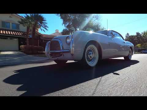 video 1953 Chrysler Special Coupe by Ghia