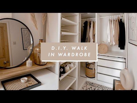 I BUILT A WALK IN WARDROBE | DIY ROOM MAKEOVER | I Covet Thee