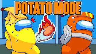 Among us HOT POTATO mode! (mods)