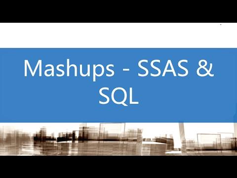 Mashup - SSAS & SQL