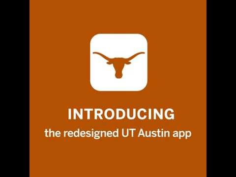 UT Austin app: Available now on iPhone and Android
