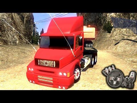 Euro Truck Simulator 2 - Mercedes Benz 1620 - Mercedão elegante - Com Logitech G27 - RaaVaz
