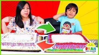 Cake Switch Up Challenge with Twin Telepathy Cake Challenge!!!!