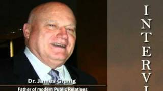 Interview to James Grunig, father of modern Public Relations