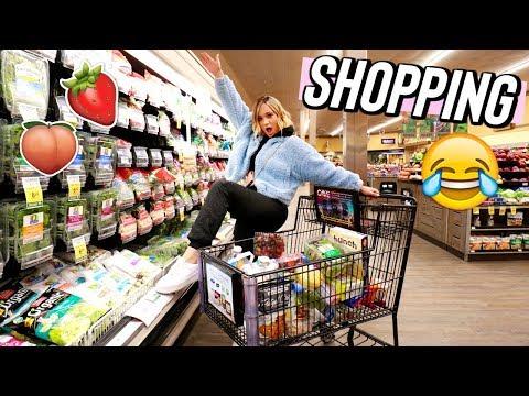 grocery shopping with alisha!! vlogmas day 9