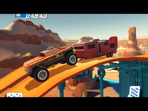 Hot Wheels Race Off Android / iOS Daily Race off / Supercharge Challenge Gameplay Multiplayer