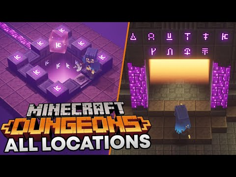 Minecraft Dungeons - How to unlock the Secret Level (All Rune Locations)