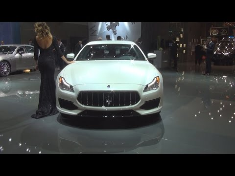 Maserati Quattroporte GTS (2017) Exterior and Interior in 3D