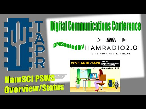 HamSCI PSWS Overview/Status - TAPR Digital Communications Conference 2020