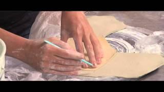 Pottery Video: Using Plastic to Make Handbuilding Easier   LORNA MEADEN