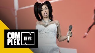 Cardi B Calls Off Tour Dates Due to Pregnancy: 'A B*tch Barely Can Breathe'