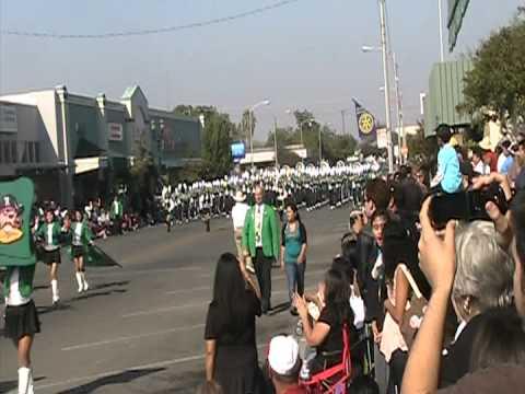 Reedley High School Band Reedley High Band Selma Parade