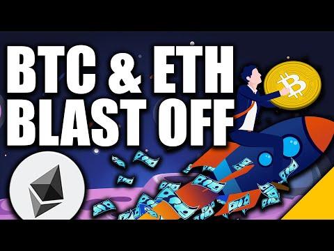 Bitcoin BLASTING OFF to k (BTC & Ethereum's BEST Weekend)