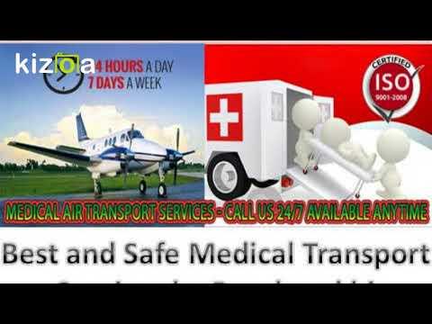 Panchmukhi ICU Air Ambulance Service in Kolkata