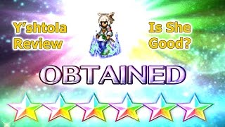 FF BE 6 Stars Y'shtola Review: How Good She Compared to Refia and Luka(#92)