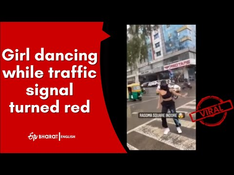 Indore: Video of girl dancing on zebra crossing goes viral, lands in trouble