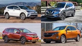 Top 25 Best Selling SUVs in America — First Half 2018 | List 25