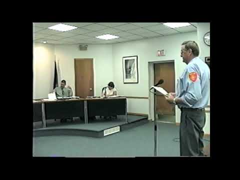 Rouses Point Village Board Meeting 7-16-01