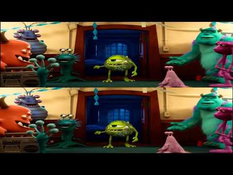Monsters University 3D Trailer 2013 BDRip halfOU 1080p