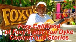 Foxy Callwood Concert at Foxy's Harbor Grille, St. Michaels,Maryland