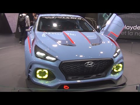 @Hyundai RN30 Concept (2017) Exterior and Interior in 3D