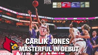 Louisville's Carlik Jones Masterful In Debut