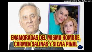 Carmen Salinas y Silvia Pinal enamoradas del mismo hombre. Flor Rubio Fórmula Espectacular 12 Nov.