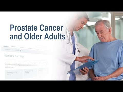 Prostate Cancer and Older Adults