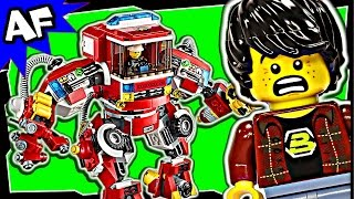Lego Movie RESCUE REINFORCEMENTS 70813 Stop Motion Review