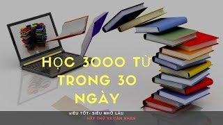 Bí quyết học 3000 từ vựng  tiếng Hàn trong vòng 30 ngày  theo phong cách Hàn Quốc - 단어 암기하는 비법