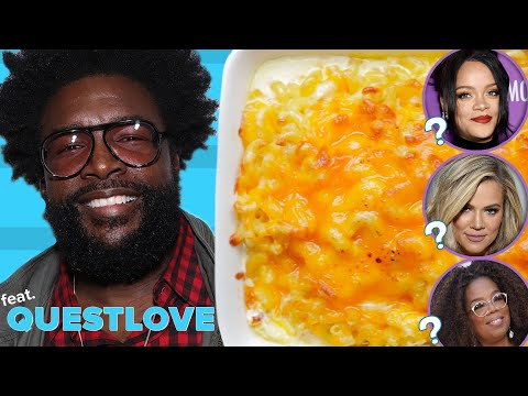 """Can Questlove Guess Which Celebrities Made These Dishes"""""""