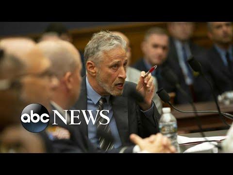 Jon Stewart rips into Congress over 9/11 support