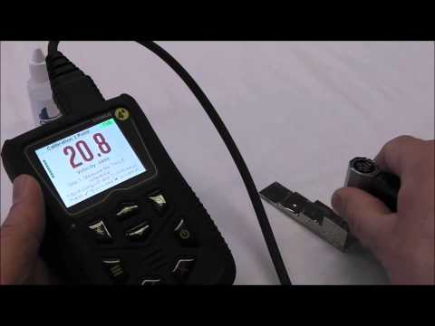 How to Perform a Two-Point Calibration of a Cygnus 4+ NDT Ultrasonic Thickness Gauge