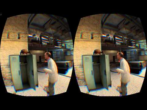 Half-Life 2 Oculus Rift DK2 Gameplay (see description for how-to guide)