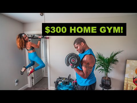 $300 HOME GYM! | 8 Budget Workout Essentials from Amazon