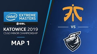 CS:GO - Fnatic vs Grayhound [Inferno] Map1 Ro3 - Challengers Stage - IEM Katowice 2019