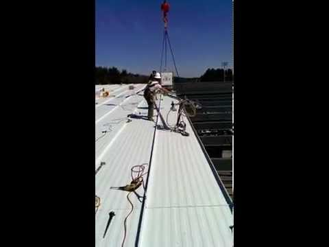 Xaverian HS Gymnasium Roof Installation