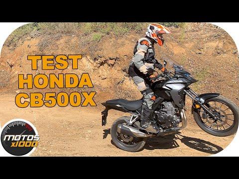 Test Honda CB500X (MY2019) | Motosx1000