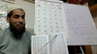 Al Quran Basic Training/Course for Tajweed (Naazra) by Qari UbaidUllah Qaida lesson Muddd 1a
