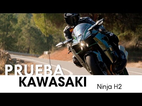 Kawasaki Ninja H2 - videoprueba - castellano - 2015