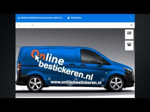 BUSJEBELETTEREN Auto reclame belettering