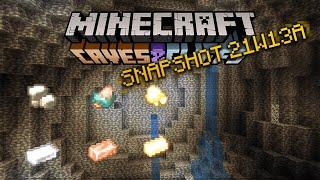 Minecraft 1.17 Snapshot 21W14A | Raw Ores!!