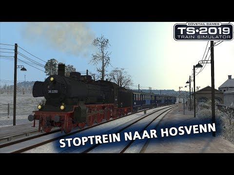 Train Simulator 2019: Stoptrein naar Hosvenn (Im Köblitzer Bergland v3 Reloaded)