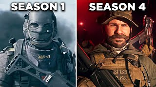 All Cinematic Cutscenes (SEASON 1-4) - Call Of Duty Modern Warfare