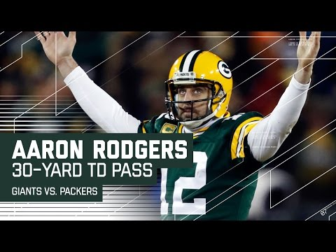 Aaron Rodgers to Randall Cobb for 30-yard TD | Giants vs. Packers | NFL Wild Card Highlights