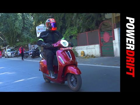 Bajaj Chetak | First electric ride | PowerDrift